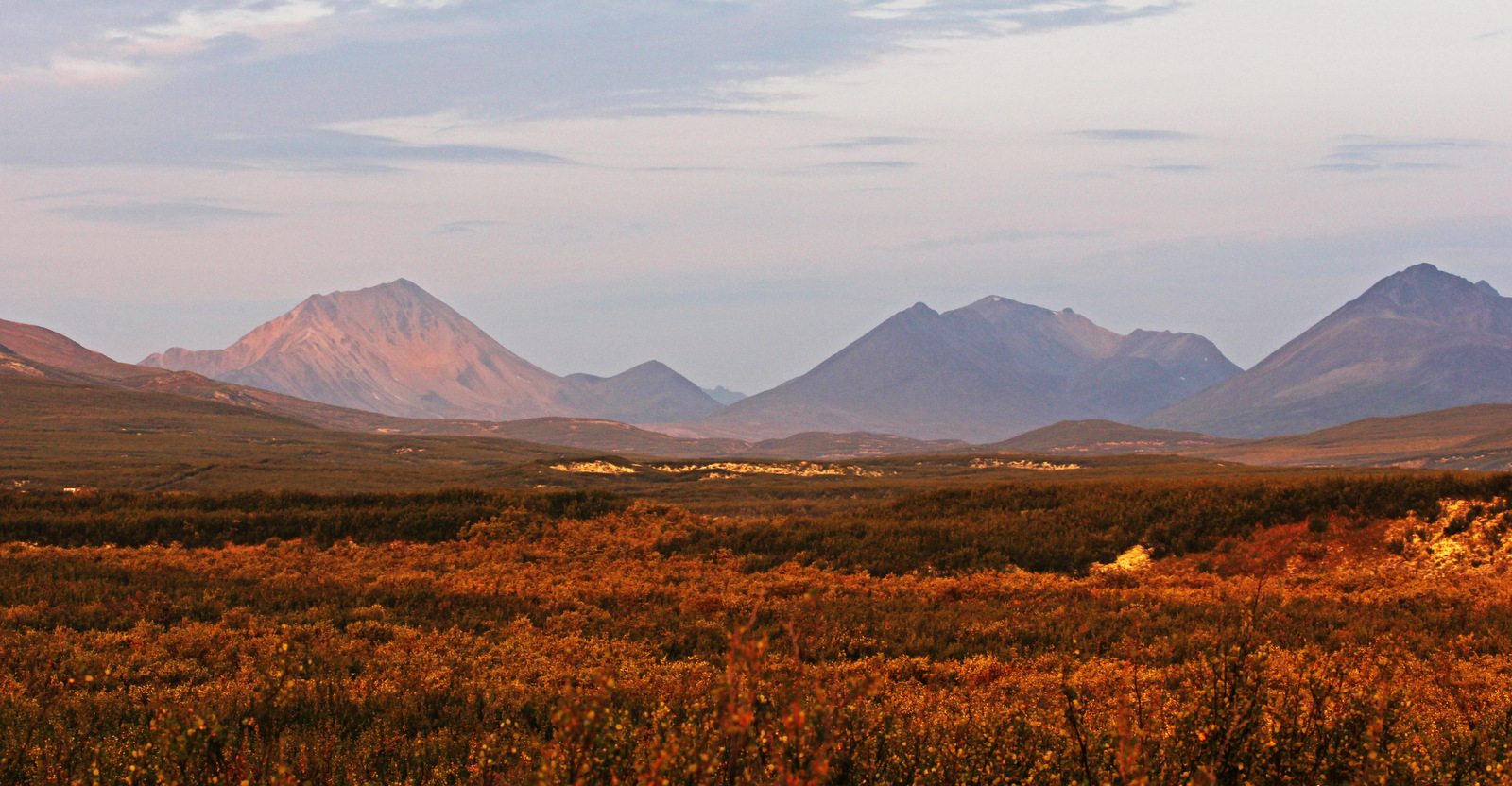 Landscape of the Mackenzie Mountains