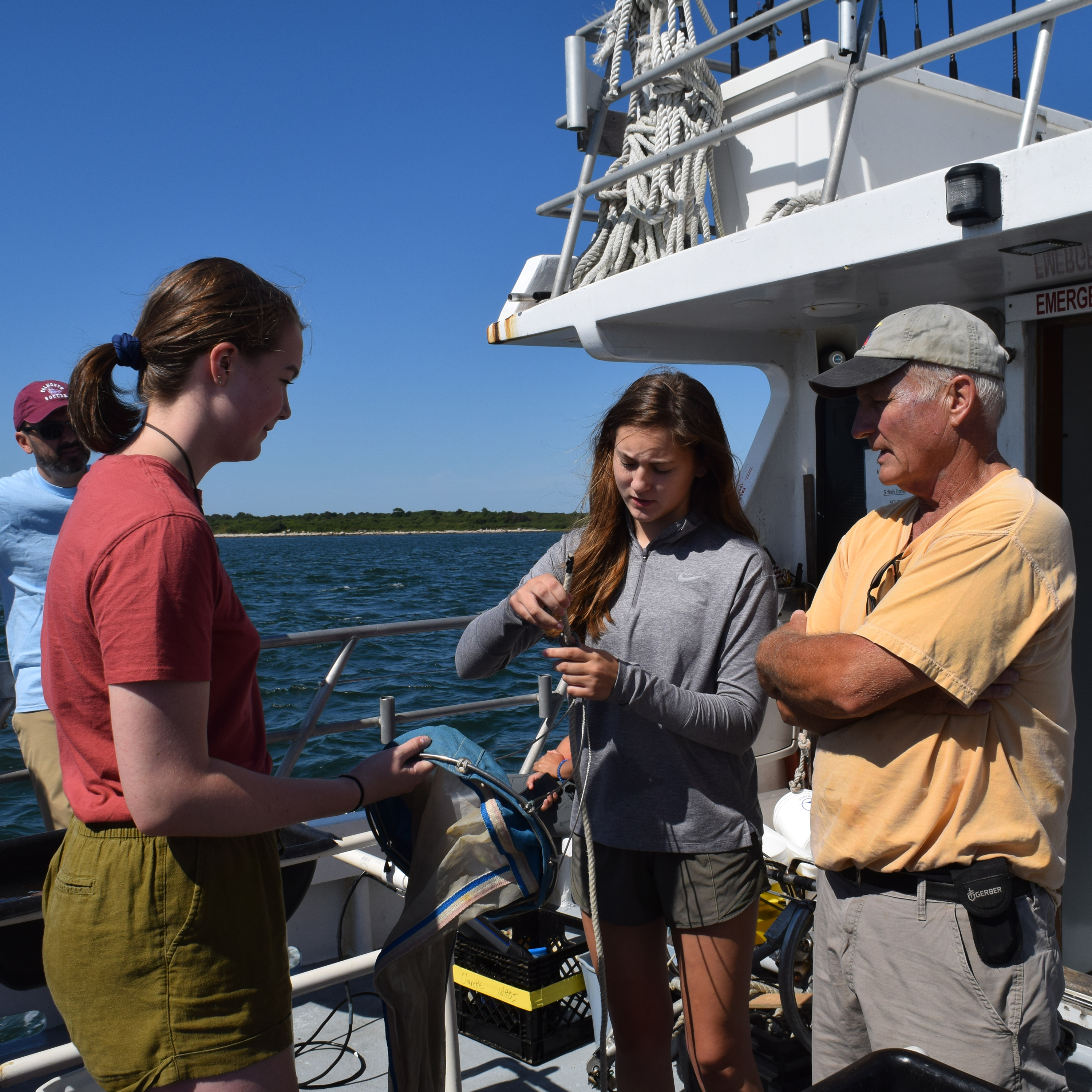 Our Girls in Science fellows, meanwhile, have built and deployed underwater microphones and analyzed dolphin acoustic data with sophisticated sonic software—helping scientists better understand marine mammals and prevent mass strandings on Cape Cod.