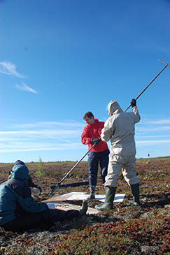 researching climate change in churchill manitoba