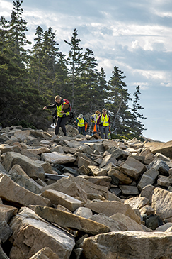 studying climate change in acadia national park