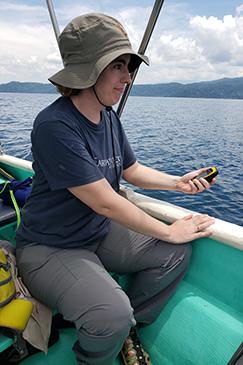 Earthwatch volunteers in costa rica