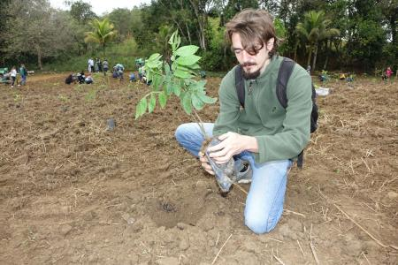 Volunteers can aid in reforesting the Atlantic Forest (credit Stan Rullman)