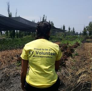 An EY-Earthwatch Ambassador on the expedition Conserving Wetlands and Traditional Agriculture in Mexico.