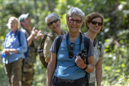 happy earthwatch volunteers in cuba