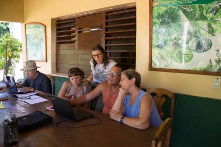 earthwatch volunteers in cuba