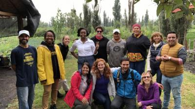 The Teach Earth Fellows in Mexico