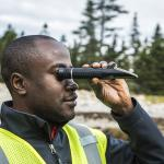 volunteer studying climate change at acadia national park
